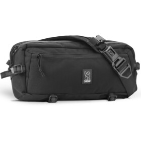 Chrome Kadet Nylon Messenger Bag, black/aluminium
